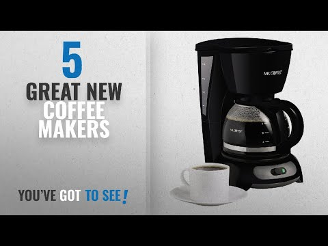 Top 10 Mr. Coffee Coffee Makers [2018]: Mr. Coffee 4-Cup Switch Coffee Maker, Black