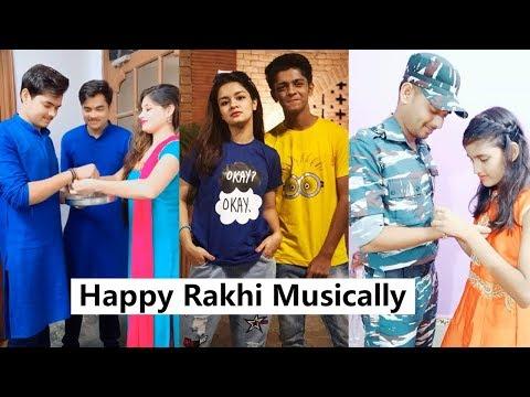 Happy Rakhi Musically | Mrunal, Avneet Kaur, Twins, Sanket Mehta and More