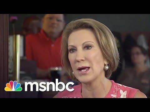 Carly Fiorina SHINES In First 2016 GOP Debate   Morning Joe   MSNBC