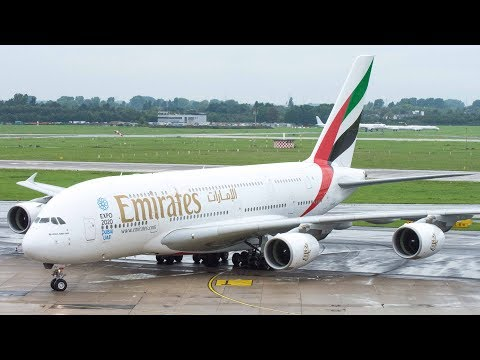 Planespotting at Dusseldorf International Airport- Ground Operations, Arrivals and Departures