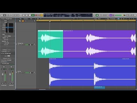 Transpose Audio Regions In Logic Pro X (Finally!)