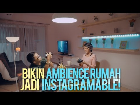 Ambience Rumah Instagramable! [Philips Hue]