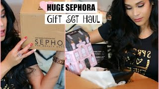 HUGE Sephora VIB Haul Best Holiday Gift Sets & Limited Edition Palettes  MissLizHeart