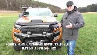 Bekanntester Ford Ranger Deutschlands zu verkaufen