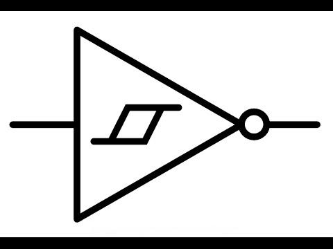 Схема триггера шмитта на транзисторах фото 963