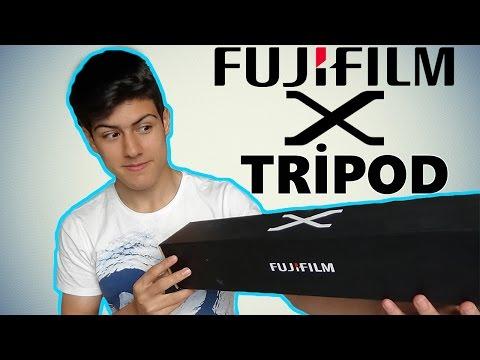 Fujifilm X Tripod Kutu Açılımı