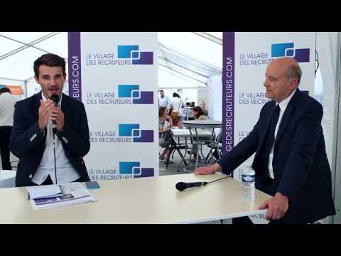 Interview de Monsieur Alain Juppé Maire de Bordeaux #VDRBordeaux