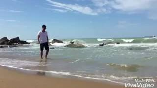 Serkan cayoglu ozge gurel at beach