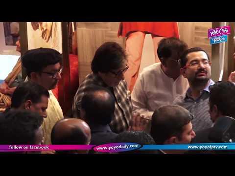 Amitabh Bachchan Inaugurates Pradeep Chandra Art Exhibition Frames 75 At Mumbai | YOYO Cine Talkies