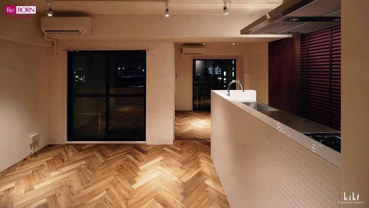 京都中京 メゾネットマンションリノベーション。東欧テイストの1LDKとアトリエに