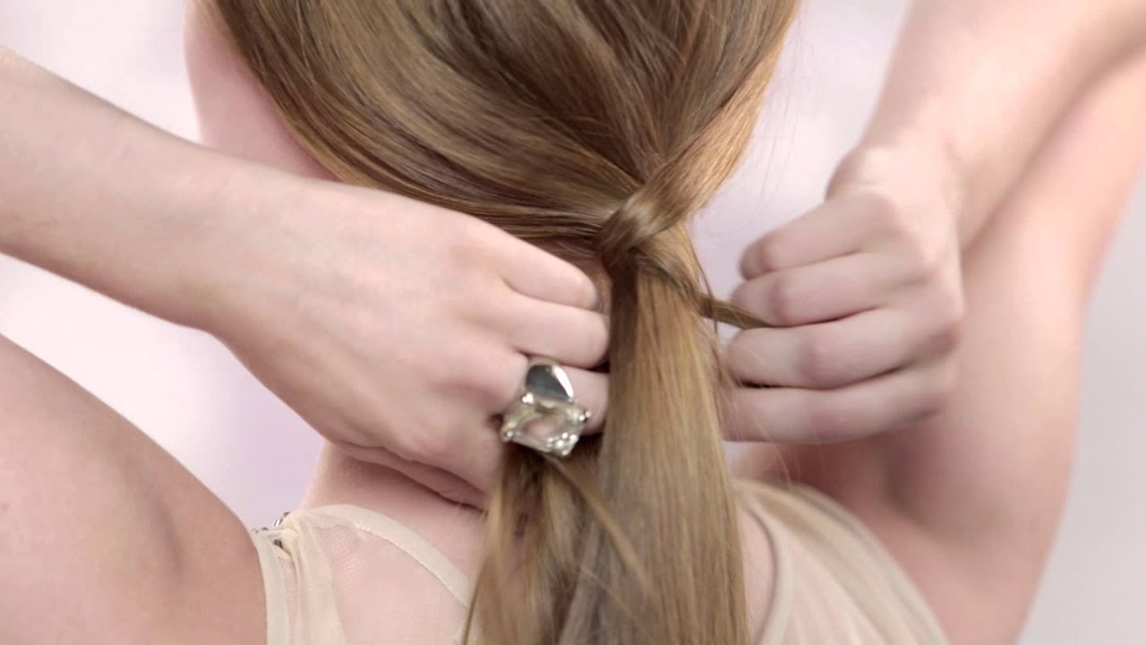 Easy Special Or Formal Occasion Down Hairstyle For Long Hair
