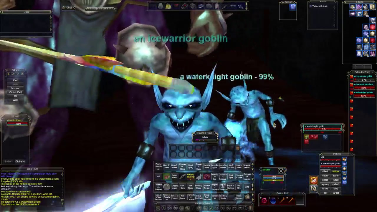 EVERQUEST LIVE - How to solo/Molo your level 85 Heroic Enchanter