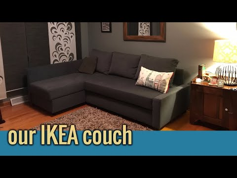 ikea-friheten-assembly-time-lapse,-overview-and-thoughts!