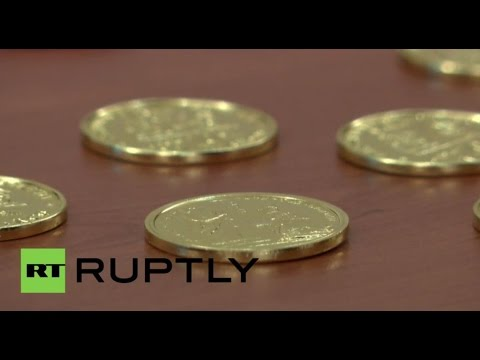 Italy: 'Venetian Government' present their own currency - the San Marco coins