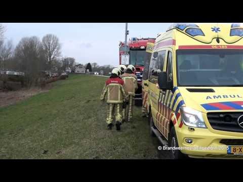 2015 02 23 Ongeval letsel IJsseldijk Veessen