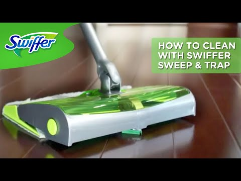 How To Use And Assemble Swiffer Sweep & Trap | Swiffer