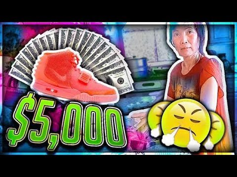 Thumbnail: Mom Freaks Out at me for Buying $5,000 Shoes