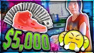Mom Freaks Out at me for Buying $5,000 Shoes thumbnail