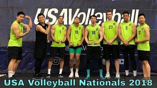 VLOG - USA Volleyball Adult National Championships 2018