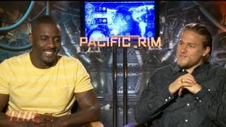 The Cast Of 'Pacific Rim' On Working With Guillermo Del Toro's Giant Aliens