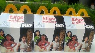 Cajita Feliz McDonald's Disney Princesas & Star Wars (Agosto/Septiembre 2021) Parte 5