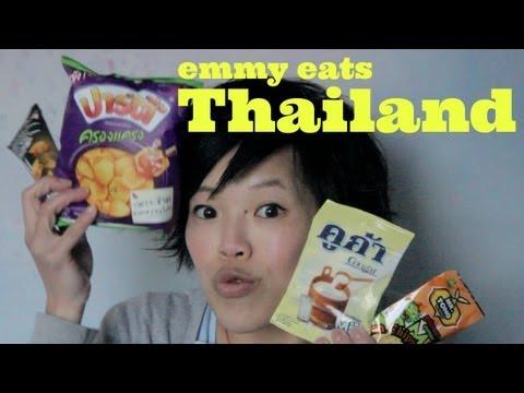 Emmy Eats Thailand - tasting Thai snacks & sweets