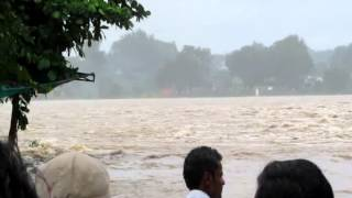 Flood in Narmada River