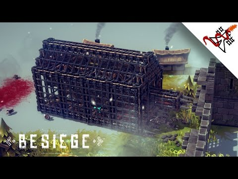 Besiege - How to Create a Battering Ram