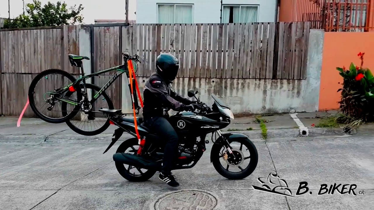 Bicycle Rack For Motorcycles