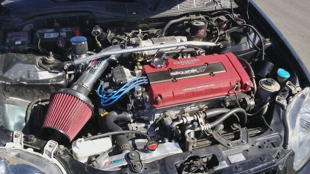 2KRacing Civic Type R B18C Swap Fully Built 220whp LSD Transmission