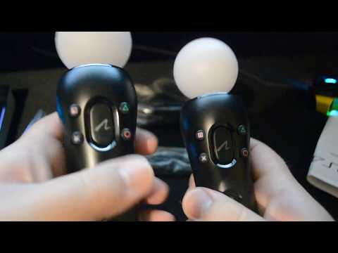 Sony PlayStation Move Motion Controller - Twin Pack (PS4/PSVR) Unboxing