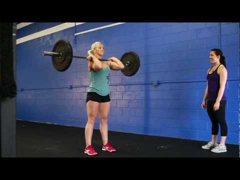 CrossFit - Coaching the Clean and Jerk with Natalie Burgener