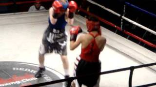 My first amateur boxing fight, Round 1