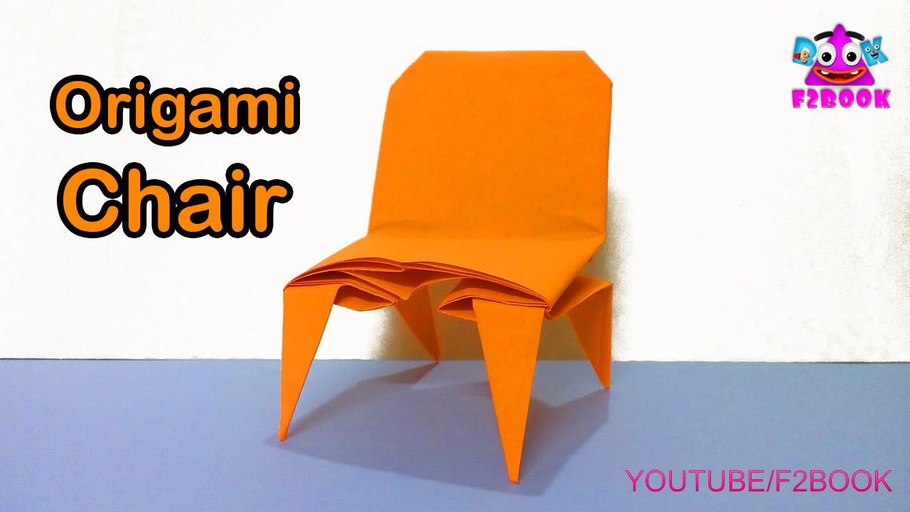 Origami chair folding instructions how to make an origami chair origami chair folding instructions how to make an origami chair f2book video tutorial 167 youtube jeuxipadfo Gallery