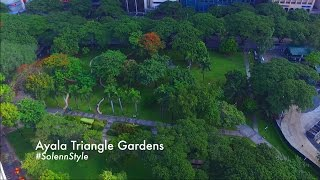 Ayala Triangle Gardens - DJI Phantom 3 Standard