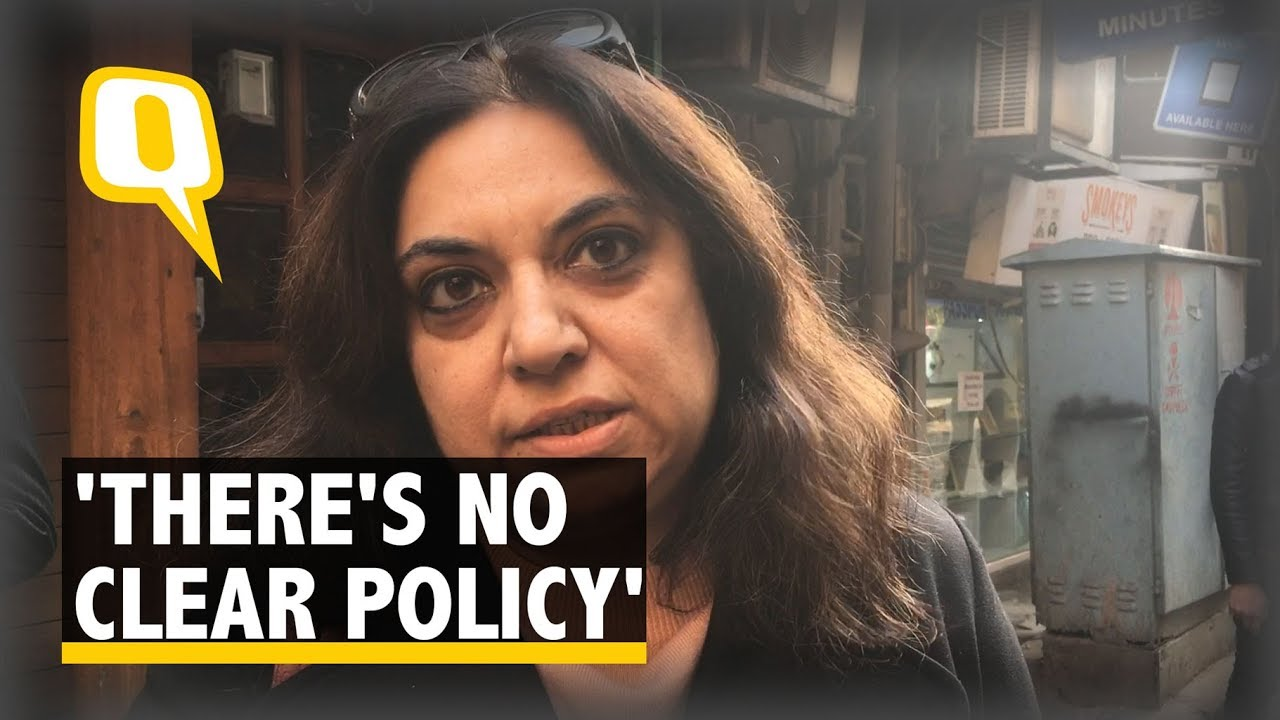 No Policy On Terrace Use Say Store Owners The Quint Youtube