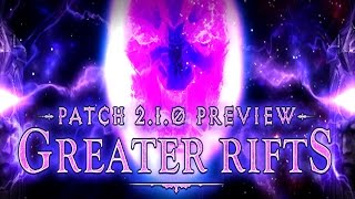 Diablo 3 Patch 2.1 Guide to Greater Rifts!
