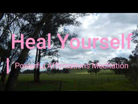 Heal Yourself | Healing Affirmations | Subliminal |...