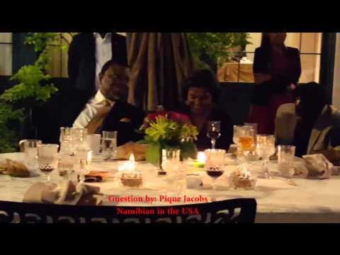 USA Community Dinner with President Hage Geingob