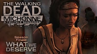 The Walking Dead: MICHONNE Episode 3: What We Deserve Gameplay Walkthrough