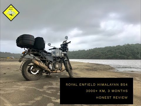 Royal Enfield Himalayan BS4   3000 km   3 Months   Honest Ownership Review   The Good & the Bad