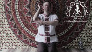 Traditional Thai Yoga -Thai Hermit Exercise 11: Reusi Dat Ton