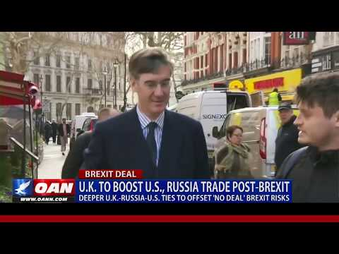 U.K. to boost Russia, U.S. trade post-Brexit to offset risks
