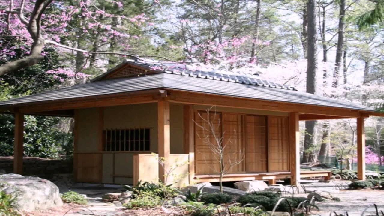 Tiny house japanese style youtube for Japanese themed house