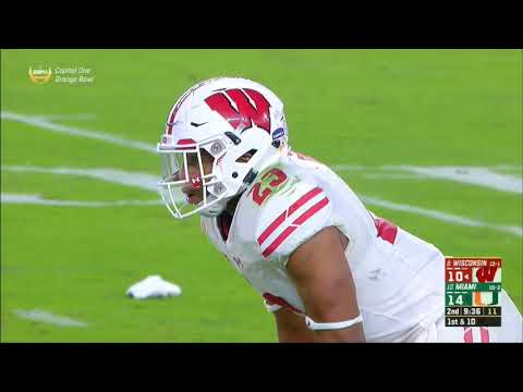 2017 - Orange Bowl - Wisconsin Badgers vs Miami Hurricanes in 40 Minutes