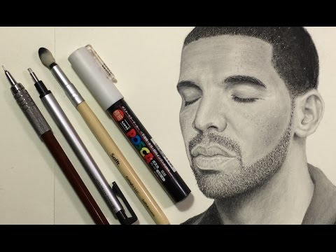 Art supplies i use for realistic pencil drawing