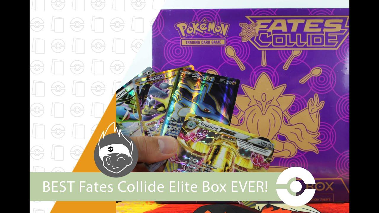 Pokemon Cards Opening The Best Fates Collide Elite Trainer Box Ever Secret Break Ultra