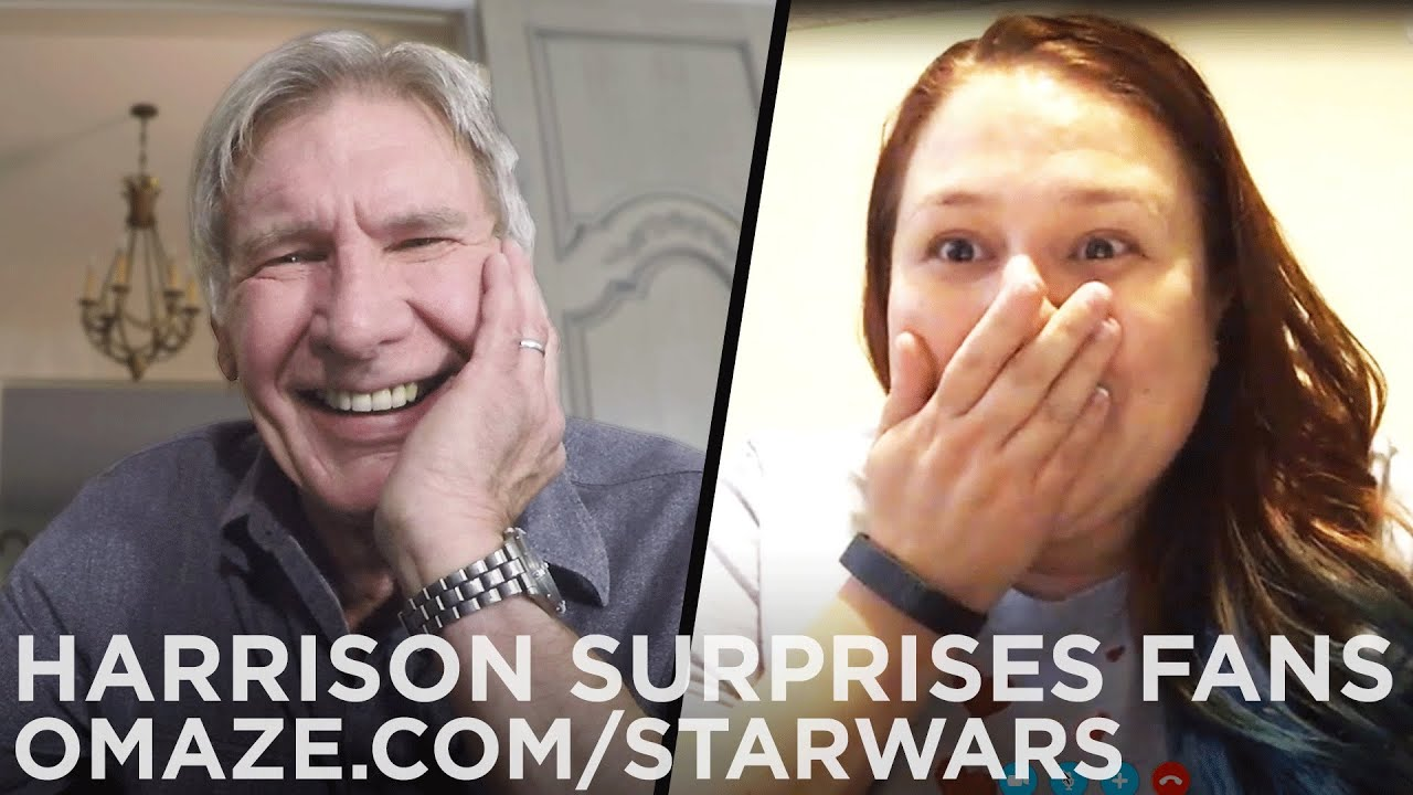 Camera Cachee Star Wars : Harrison ford surprises star wars fans with big newsu2026 for charity