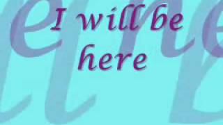 i will be here- michael W. smith