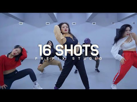 Stefflon Don - 16 Shots | NARIA choreography | Prepix Dance Studio